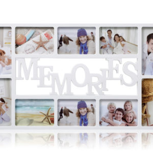 Photo Frame 10 Aperture White Memories -0