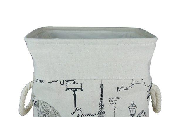 Laundry Basket Fabric Foldable Small-591