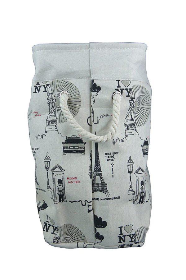Laundry Basket Fabric Foldable Small-592