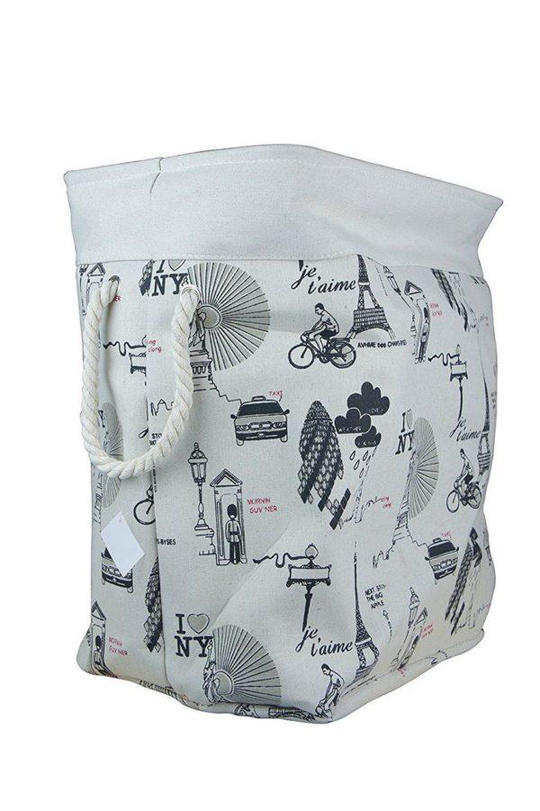 Laundry Basket Fabric Foldable Large-747