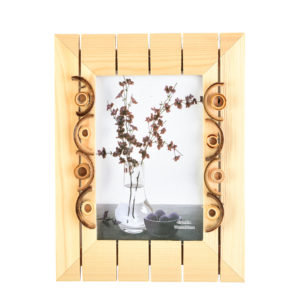 "Photo Frame Rustic Bamboo 4x6"" Photo -0"