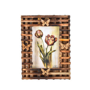 "Photo Frame Rustic Vintage 4x6"" Photo-0"