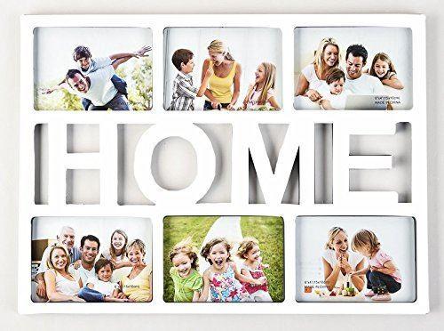 """Photo Frame 6 Aperture 4x6"""" White Home-0"""