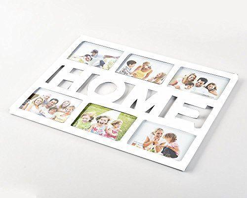 """Photo Frame 6 Aperture 4x6"""" White Home-886"""