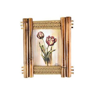 """Photo Frame 5x7"""" Wooden Bamboo-0"""