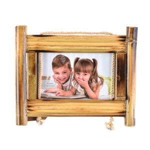 """Photo Frame 4x6"""" Wooden Bamboo-0"""