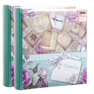 "Photo Album 6""x4'' x 200 Hold Memories Slip in Memo Album Pack of 3-0"