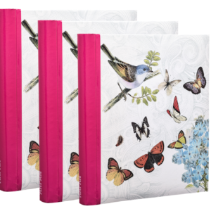 Self Adhesive Vintage Butterfly Pack of 3-0