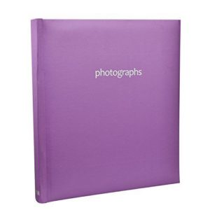 "Pastal Purple 120 Hold Photo Album for 5x7"" Photo-0"