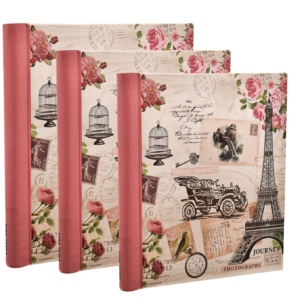 Photo album self adhesive travel memories 20 Sheet each (Pack of 3)-0