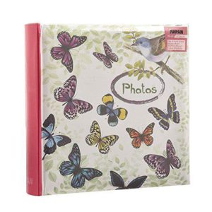 "Memo slip in 4x6"" vintage butterfly 200 photos -0"