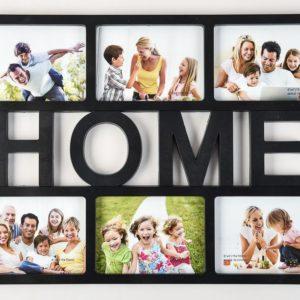 "Photo Frame 6 Aperture 4x6"" Black Home-0"