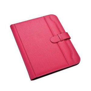 A4 Presentation Conference Portfolio Folder Hot Pink with Calculator-0