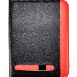 Presentaiton conference portfolio folder A4 black & red-0