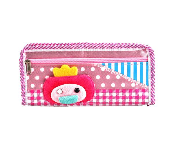 Pencil case pouch pink-0