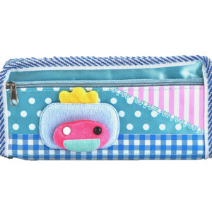 Pencil case pouch blue-0