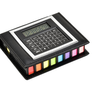Sticky Memo Note Set with Calculator-0