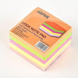 Sticky Memo Notes Assorted 500 Sheets-0