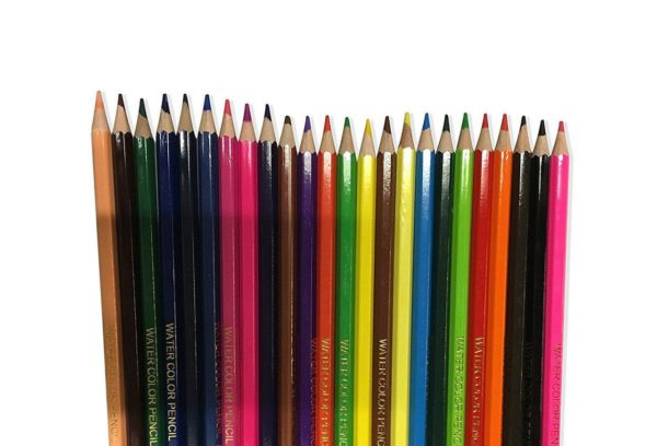 Watercolour Pencils Asstorted Colours Pack of 24-3126