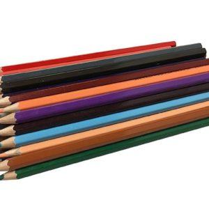 Watercolour Pencils Assorted Colours Pack 48 -0