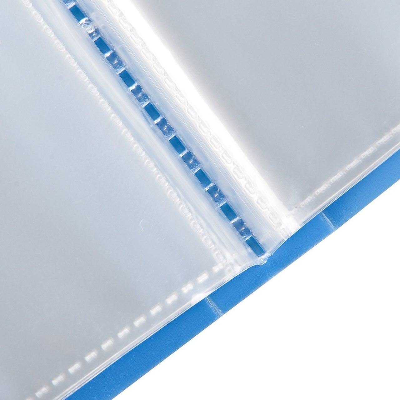 A4 Display book folder 104 pockets pack 6 blue -3304