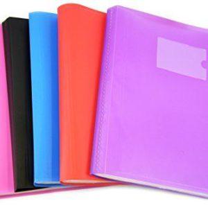 Presentatoin Display Folder A4 62 Pockets Assorted Colour-0