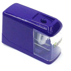USB Operated Desktop Pencil Sharpener Purple-0