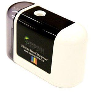 White Desktop Sharpener-0