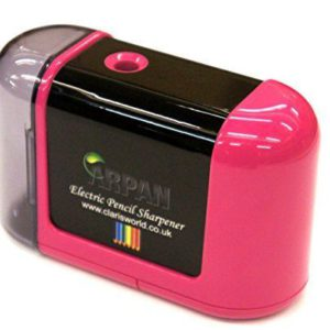 Pink Desktop Sharpener -0