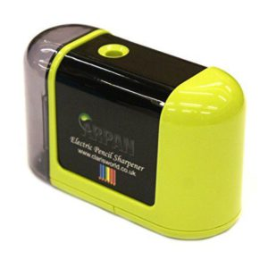 Lime Green Electric Sharpener-0