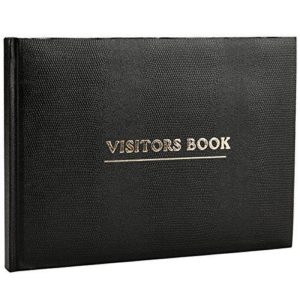Visitor Book Black-0