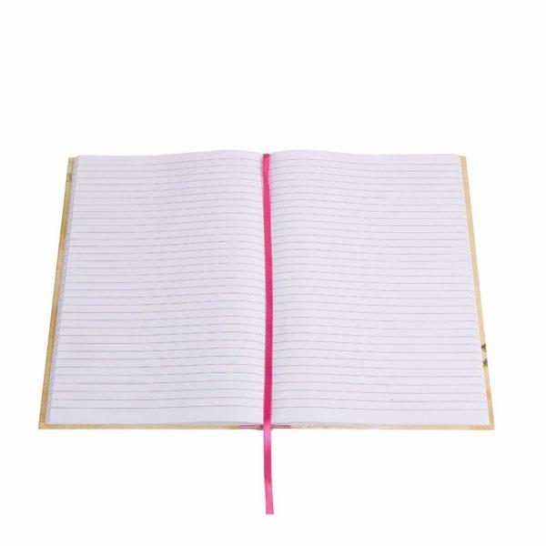 Vintage Notebook Eiffel Tower Ruled Notebook-3527