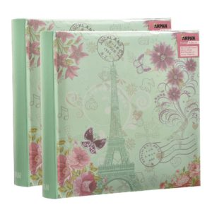 Photo album Eiffel tower 6x4'' x 200 hold slip In memo album x 2-0