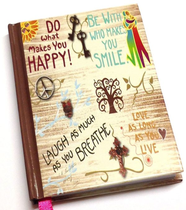 100 x Small Pocket Things To Do Today Notebook Life inspiration slogans Cover-3841