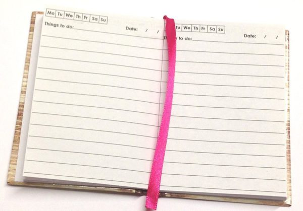 100 x Small Pocket Things To Do Today Notebook Life inspiration slogans Cover-3844