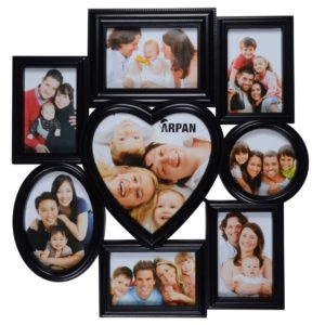 Photo Frame 8 Aperture Black-0