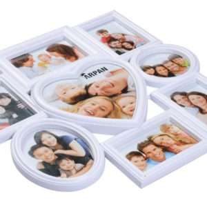 Photo Frame 8 Aperture White-3893