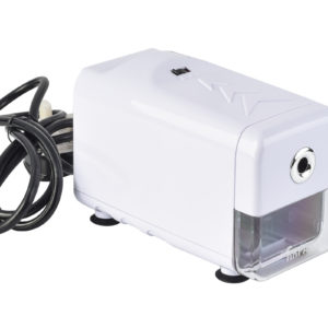 Automatic Electric Pencil Sharpener With UK Plug - White-0
