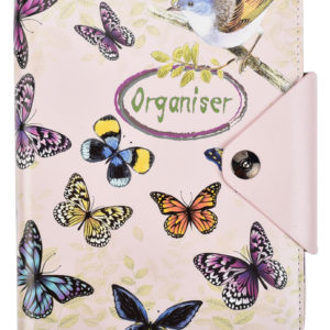 A5 Executive Personal Organiser Vintage Butterfly-0