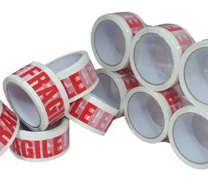 Low Noise Fragile Packaging Tape for Parcels Sealing 36 Rolls-0