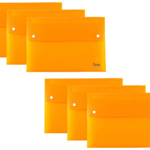Expanding File A4 13 Part Orange Pack 6-0