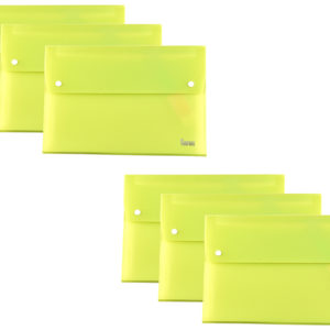 Expanding File A4 13 Part Green Pack 6-0