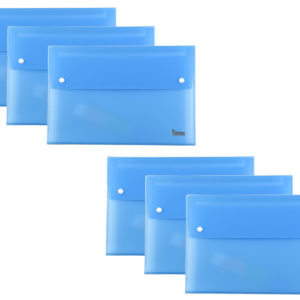 Expanding File A4 13 Part Blue Pack 6-0