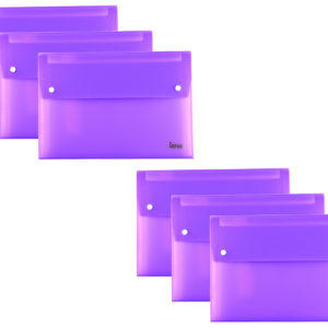 Expanding File A4 13 Part Purple Pack 6-0