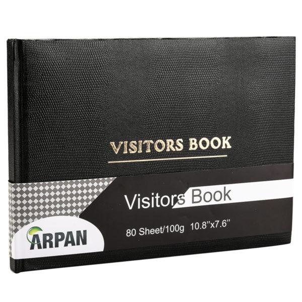 Visitor Book Black Pack 2-0