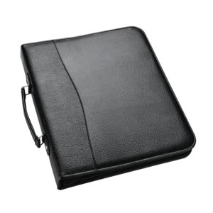 Portfolio A4 Black Ring Binder with Zip Pack 2-0