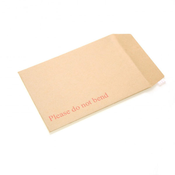 """A4 C4 Hard Board Back Manilla Envelopes """"Please Do Not Bend"""" for A4-6157"""