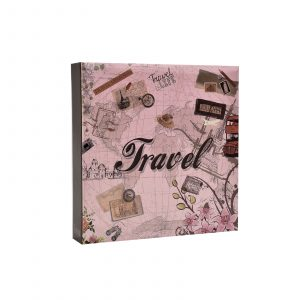"Photo Album 200 Holds 4x6"" Travel-0"