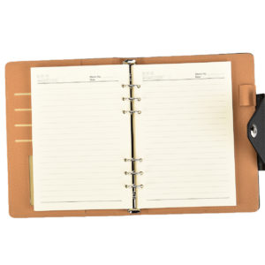 A5 Size Ruled Refill Inserts For Arpan A5 Executive Personal Organiser Ruled Notebook (Only Refills 100 Sheets)-0