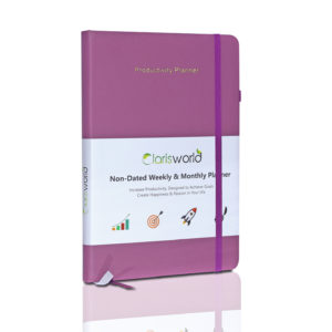 Clarisworld A5 Productivity Planner Weekly Purple-0